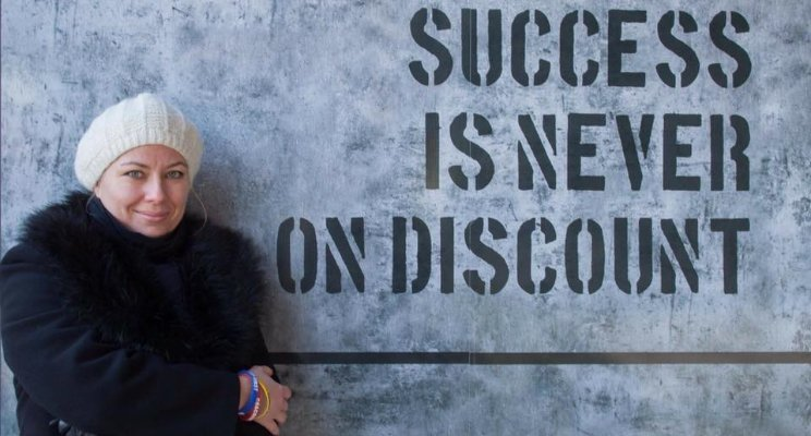 SUCCESS is NEVER on DISCOUNT!