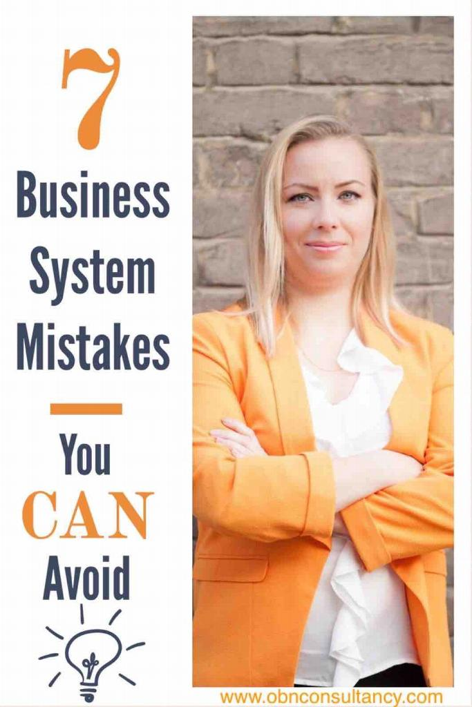 7 System mistakes you CAN avoid